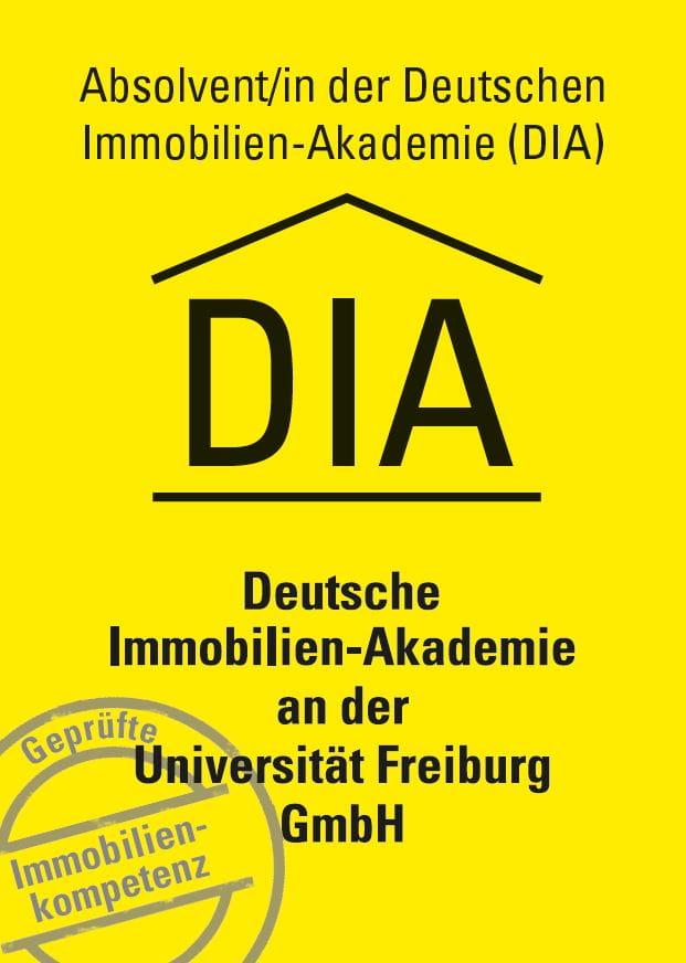 Zertifikat Deutsche Immobilien-Akademie